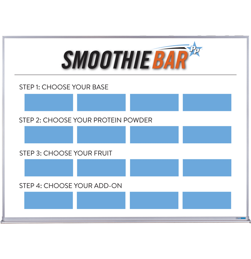 Smoothie Bar Selections